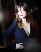 Dakota Johnson attends the 'Fifty Shades of Grey' premiere — Foto de Stock