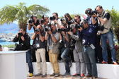 Photographers attends the 'Grace of Monaco' photocall — Stock Photo