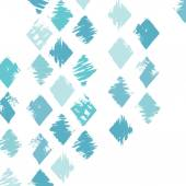 Grunge rhombus background — Stock Vector