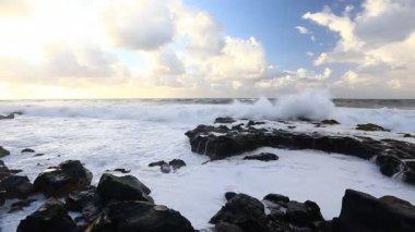 Bel paesaggio marino — Video Stock