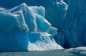 Types of  glaciers and icebergs — Stock Photo