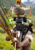 Man from Dani tribe — Stock Photo