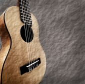Guitar with grunge background. — Stock Photo