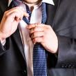 Man with a tie — Stock Photo #78351936