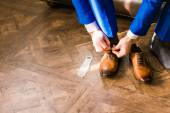 Mens  shoes — Stock Photo