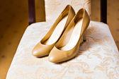 Свадебная обувь — Стоковое фото