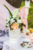 Decorazioni di nozze bella — Foto Stock