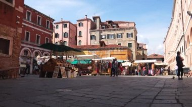 Venice city view in Italy — Stockvideo