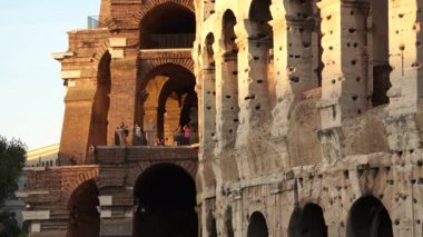 Colosseum in Rome — Stock Video