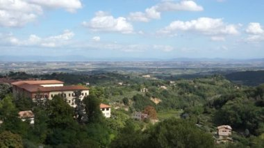 Montepulciano landscape in Italy — Stock Video