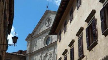 Montepulciano city in Italy — Stock Video