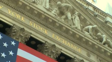 New York Stock Exchange — Stock Video