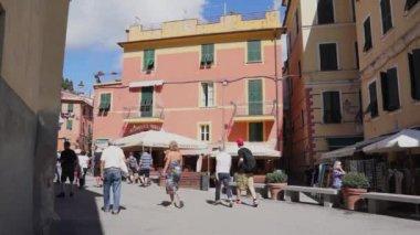 Monterosso city in Italy — Stock Video