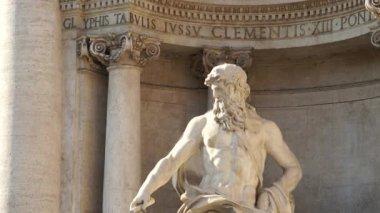 Fontanna di Trevi w Rzymie — Wideo stockowe