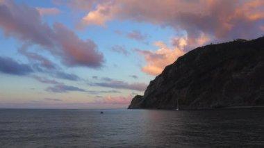 Coastal Scenes of Monterosso — Stock Video