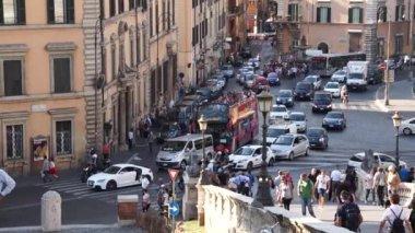 Traffic in Rome — Stock Video