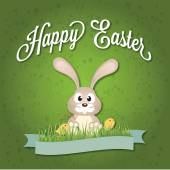 Vector easter graphical elements. Easter card — Stock Vector