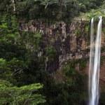 Chamarel waterfalls in Mauritius — Stock Photo #67045683