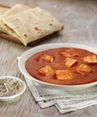 Paneer Makhani curry with rumali roti — Stock Photo