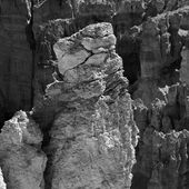 Formations rocheuses magnifique à Bryce Canyon — Photo