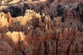 Beautiful rock formations at Bryce Canyon — Stock Photo
