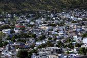 Port Louis panorama, Mauritius — Stock Photo