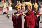 Buddhist festival at Rumtek Monastery — Photo