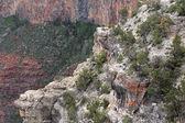 Wonderful landscapes at Grand canyon — Stock Photo
