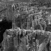 Beautiful rock formations at Bryce Canyon — Stock Photo