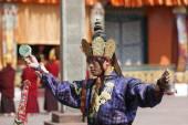 Buddhist festival at Rumtek Monastery — Foto de Stock