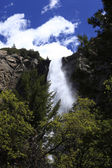 Waterfall at Yosemite national park — Foto Stock