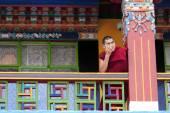 Boeddhistische monnik student — Stockfoto