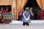 Buddhist festival at Rumtek Monastery — Stock fotografie