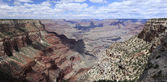 Stone formations at Grand Canyon — Stock Photo