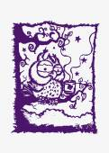Koffiepauze cartoon concept — Stockvector