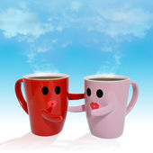 Lovers cup — Stock Photo