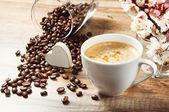 Naturalnej kawy — Zdjęcie stockowe