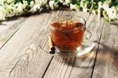 Black tea — Stock Photo