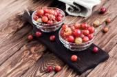 Washed ripe gooseberry — Stock fotografie