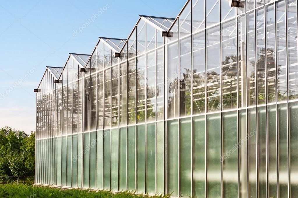 Växthus Odla : Växthus för odling av grönsaker ? stockfotografi � kucherandrey