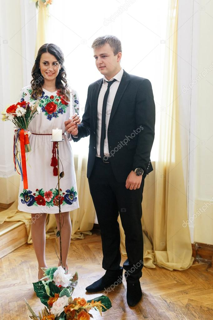 Ukrainian Bride And Groom Enter 47