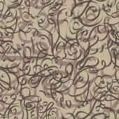 Caligrafia árabe de padrão sem emenda ornamento de texto eid conceito de mubarak para comunidade muçulmana festival eid al fitr(eid mubarak) — Vetor de Stock