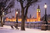The House of Parliament and Big Ben in London, the United Kingdom — Stockfoto