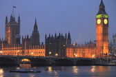 The House of Parliament and Big Ben in London — Stockfoto