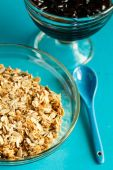 The rolled oats — Stock Photo