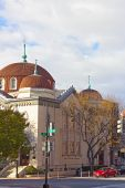 Sixth and I Historic synagogue in Chinatown neighborhood, Washington DC. — Stock fotografie