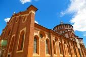 Church of Santa Maria delle Grazie in Milan, Italy. — Stock Photo