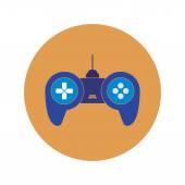 Gamepad Icon design — Stock Vector