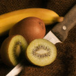 Kiwi fruit & banana — Stock Photo #72287385