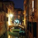 Romantic Night Venice — Stock Photo #66887361
